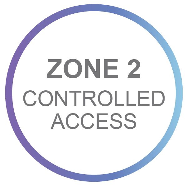 Zone 2 - Controlled Access
