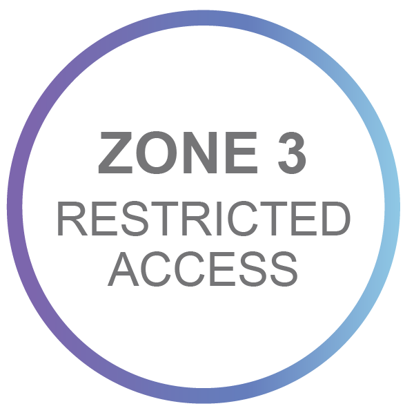 Zone 3 - Restricted Access